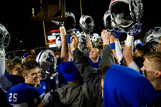 Celebrating its regional victory over Mooresville, No. 3 Memorial (11-1) will host Mount Vernon (Fortville) (11-2) at 7 p.m. CST Friday in the Class 4A semistate at Enlow Field.