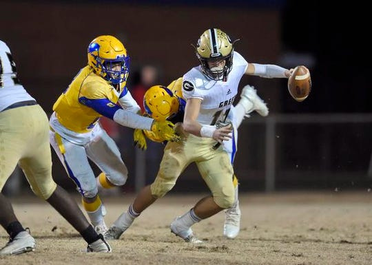 Greer faced Wren in the second round of the Class AAAA high school football playoffs on Friday, Nov. 15, 2019.