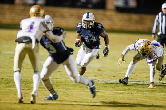 Southside Christian hosted Batesburg-Leesville in the second round of high school football playoffs on Friday, Nov. 15, 2019.