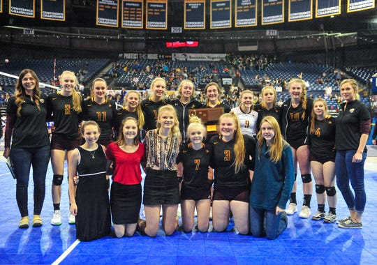 The Belt Huskies take home third place at the state volleyball tournment in Bozeman Saturday.