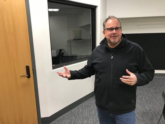 Scott Greeson, a founding member of the Songwriters Association of Mid-North Indiana, talks about the group's plans to build a nonprofit recording studio at the Tippecanoe Arts Federation in downtown Lafayette, after scoring a North Central Health Services grant. The studio is expected to open in mid-2020.