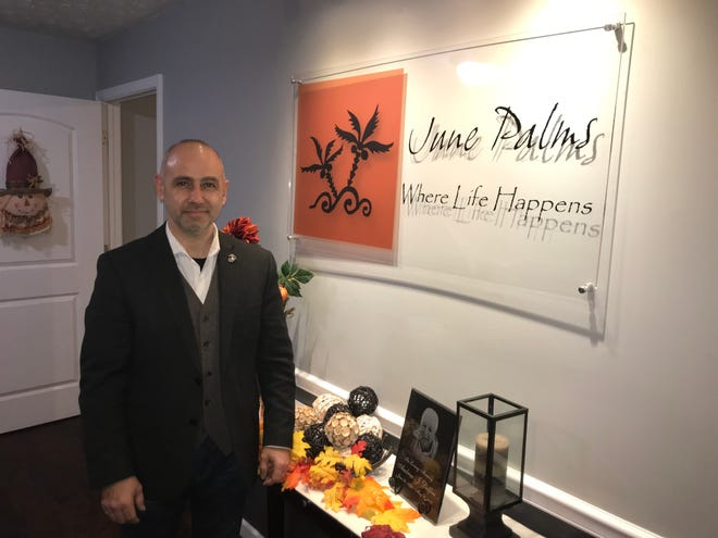 Mark Dolfini, property manager for June Palms, has worked with Tippecanoe County Prosecutor's Project Safe Neighborhoods for about 10 years, learning methods to reduce crime and improve tenants safety.