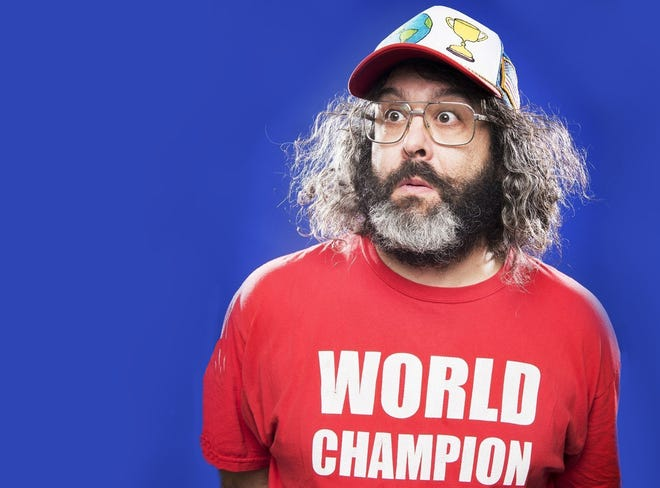 Actor and comedian Judah Friedlander will perform in Lafayette in January.