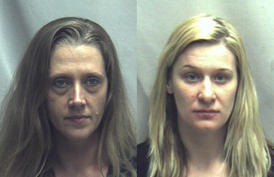 Prosecutors said Winchester, Virginia, residents Judith Wright (left) and Vicky Houghton (right) were among those swept into a cartel-connected drug scheme.