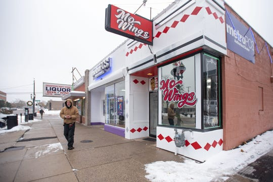 Mo Wings opened in downtown Lansing in early November. The Washington Square location is shown on Thursday, Nov. 14, 2019.