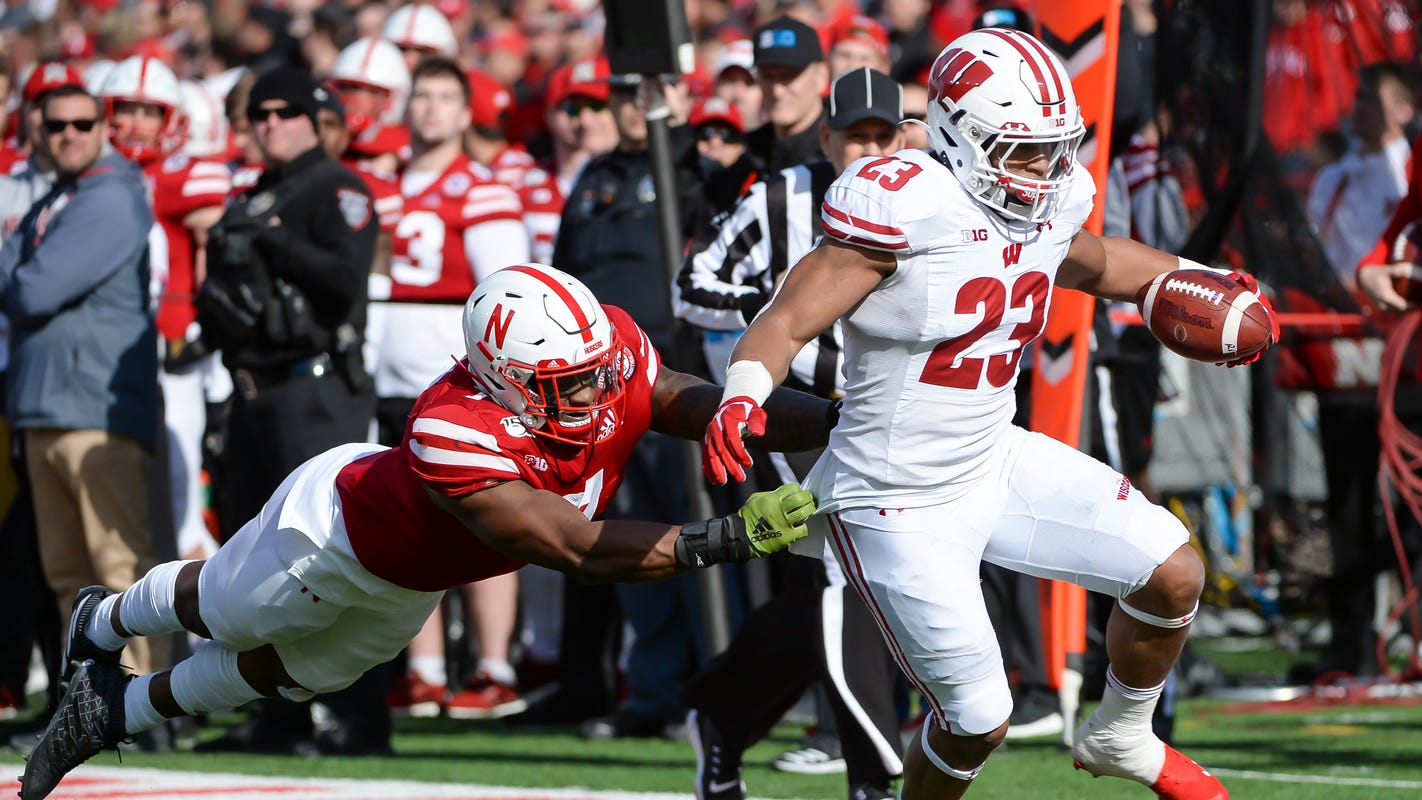 Wisconsin 37, Nebraska 21: Jonathan Taylor surpasses NCAA rushing mark through junior season - Milwaukee Journal Sentinel image