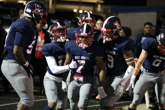 West Monroe High School football faces Central Lafourche on Nov. 15, 2019.