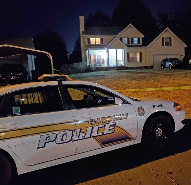Clarksville police responded to a fatal home invasion on Friday night.