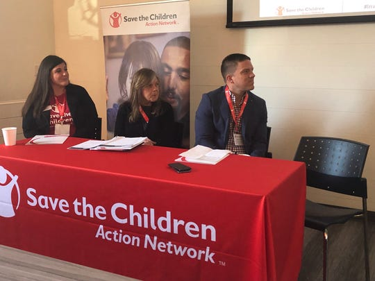 A panel of experts discuss the importance of ages birth to three during Save the Children Action Network's Tennessee State Advocacy Summit held in Nashville.