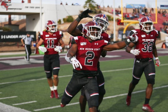 The NMSU Aggies face off against the Incarnate Word Cardinals at Aggie Memorial Stadium in Las Cruces on Saturday, Nov. 16, 2919.