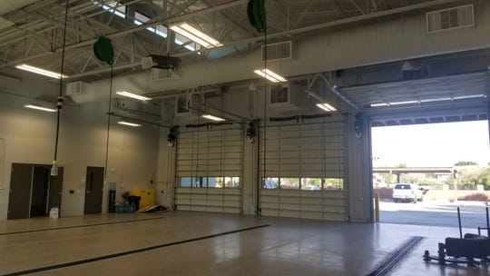 An upgraded vent system in Tempe's new fire station helps flush out harmful toxins from the building.