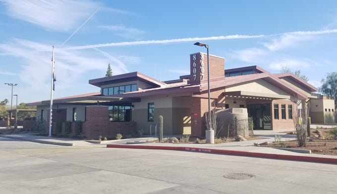 Tempe's newest fire station on McClintock Drive north of Warner Road.
