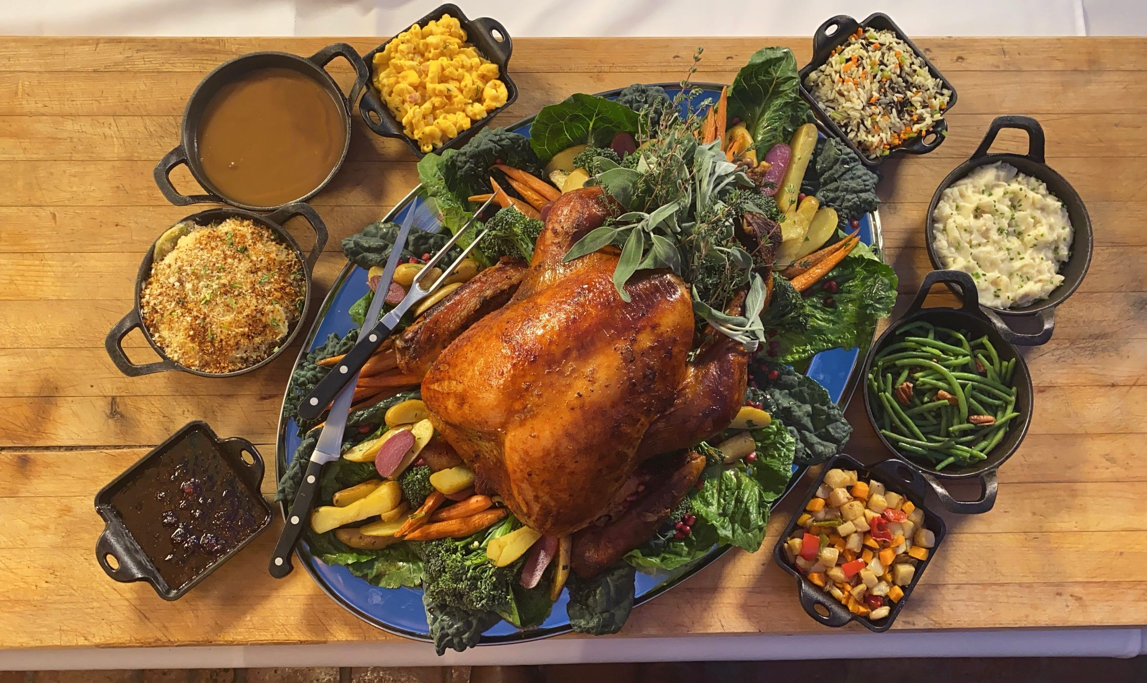 Several local restaurants will open on Thanksgiving Day for those who want to skip cooking up a feast.