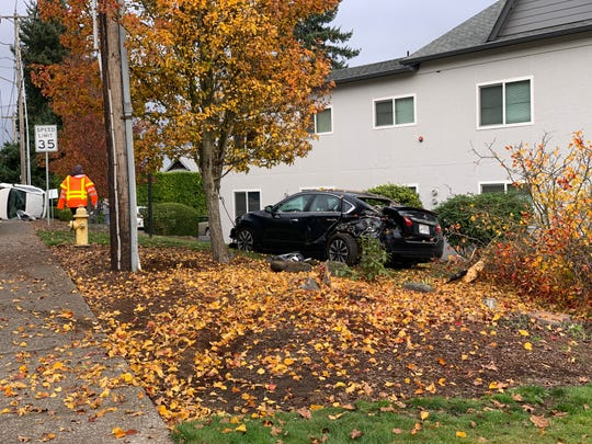 A two-vehicle crash occurred on Liberty Road S near Madrona Avenue SE around 12:30 p.m. Nov. 16, 2019.