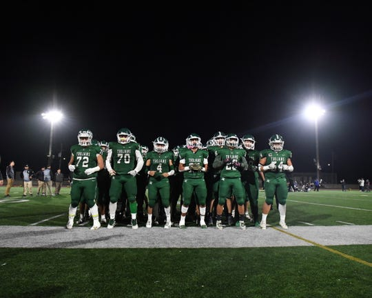 The Alisal Trojans lost Friday's playoff game 41-14 to the visiting Santa Teresa Saints.