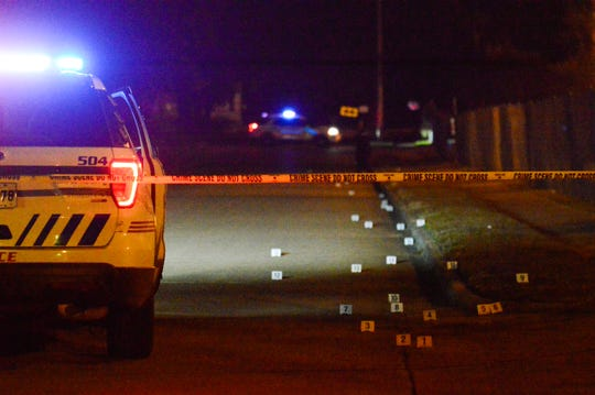 A toddler and a 23-year-Old man were injured Friday evening in a shooting outside Linwood Home apartments in Shreveport.