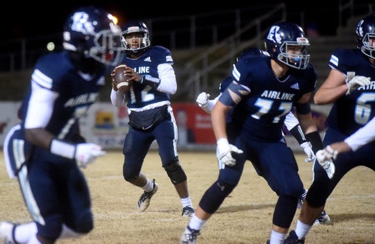 Southside at Airline football at Airline High School in Bossier City on Friday, Nov. 15, 2019 (Val Horvath Davidson/Special to The Times).