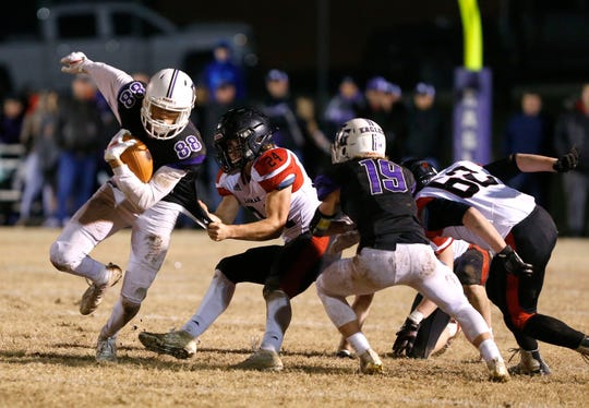 The Fair Grove Eagles took on the Lamar Tigers at Fair Grove on Friday, Nov. 15, 2019.