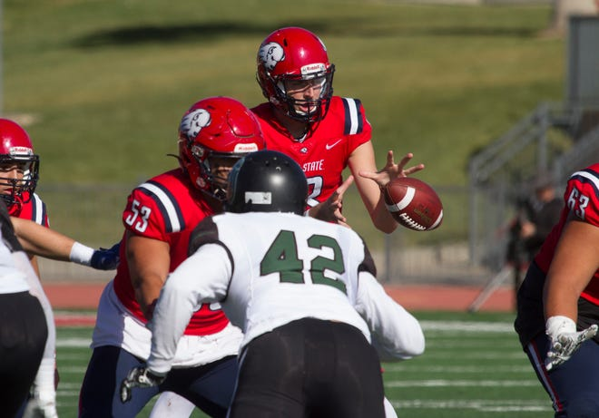 Dixie State University football defeats Adams State 35-10 Saturday, Nov. 16, 2019.