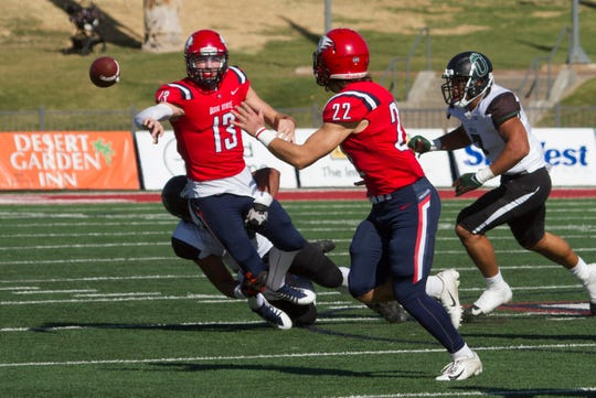 Dixie State University football defeats Adams State 35-10 Saturday, Nov. 16, 2019.