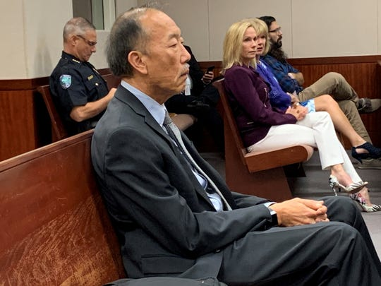 Neuroimaging expert Dr. Joseph Wu, a retired psychology professor at the University of California, Irvine, testified during the defense of convicted killer Michael Jones at his penalty phase Nov. 14, 2019. Wu told a jury the brain scans he reviewed showed Jones had a decreased frontal lobe, which is the area that regulates impulse control.