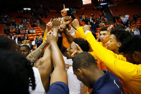 UTEP takes the court for the game against Eastern New Mexico Friday, Nov. 15, at the Don Haskins Center in El Paso.