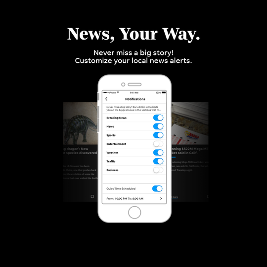 The El Paso Times app is fast, streamlined and customizable.