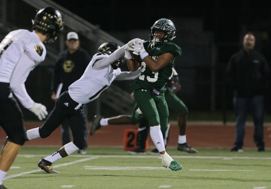 Michael Johnson III and Pacifica play at Crespi in a Division 6 semifinal Friday night.