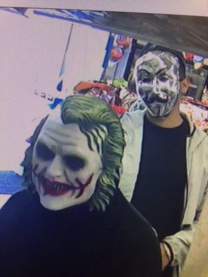 Two masked suspects entered and robbed a convenience store near Silver Strand Beach in Oxnard on Nov. 3.