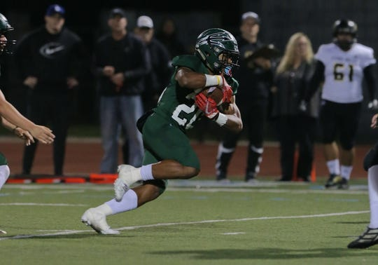 Malik Sherrod and Pacifica will look to win its first CIF football title on Saturday night.