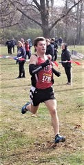 Tri-Valley's Ryan Meadows competed for Team Ohio in Saturday's Mid-East Cross Country Championships.