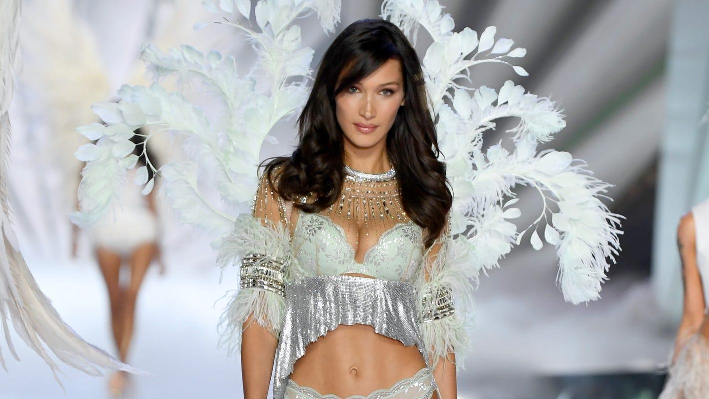 Bella Hadid says she 'never felt powerful' modeling lingerie for Victoria's Secret