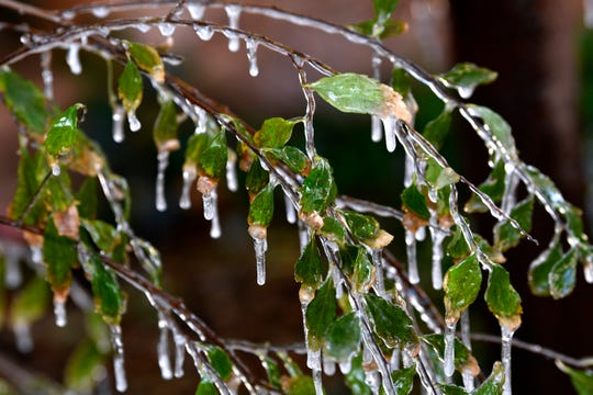 A wintry mix of precipitation is expected in West Texas overnight Tuesday.