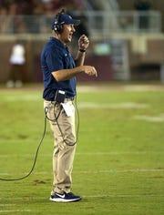 Samford coach Chris Hatcher