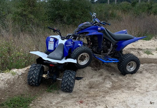 Brevard County Fire Rescue crews transported two people to a nearby hospital after ATV crash