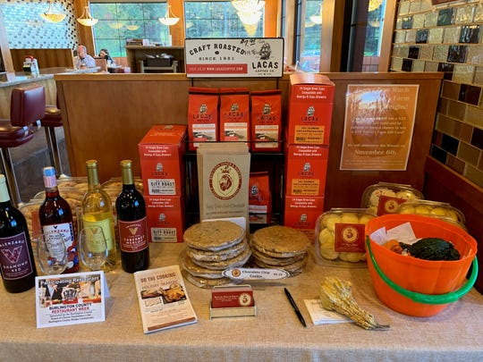 Red Lion Diner features products by local partners including Lacas coffee and Valenzano wine.