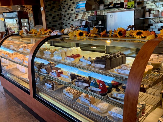 The bakery section of the Red Lion Diner is a great place to pick up holiday sweets.