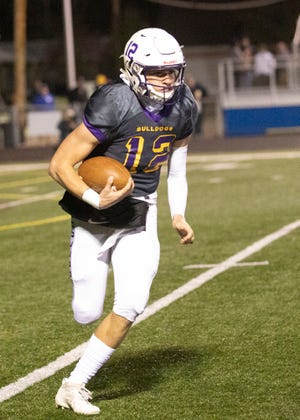 Bloom-Carroll senior quarterback Otto Kuhns was named Division IV All-Ohio first team.