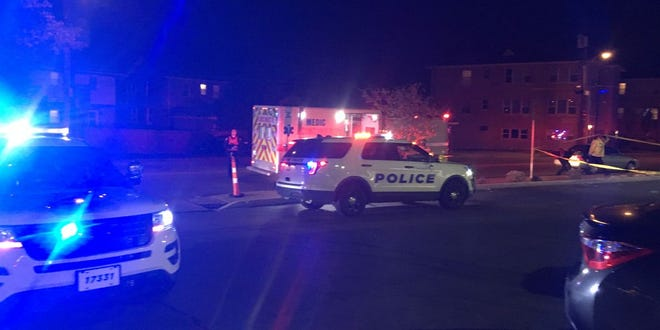 One person was shot and injured in the 3100 block of Woodford Road Saturday night, officers confirm.