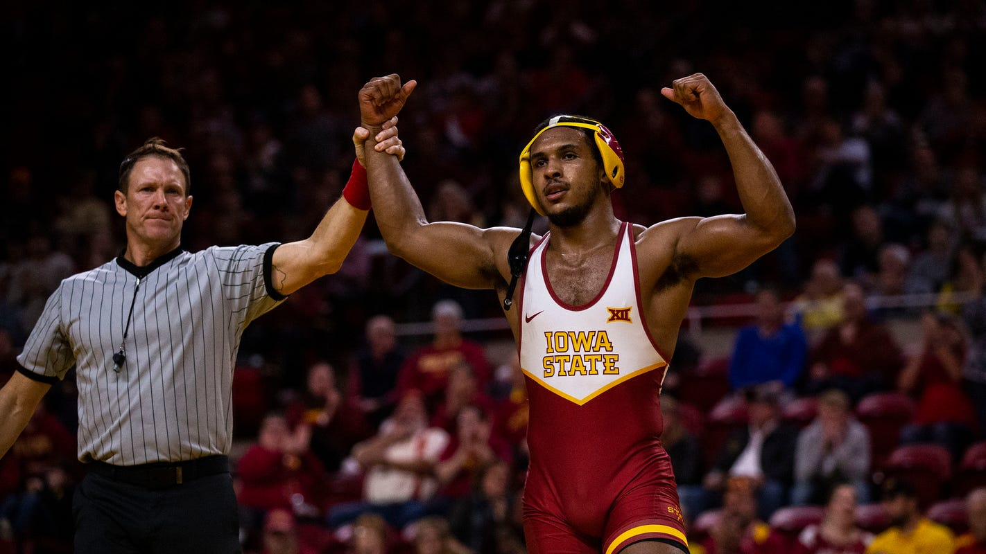 'I feel like a monster': Iowa State's Sam Colbray has big goals in decision to drop to 174 pounds