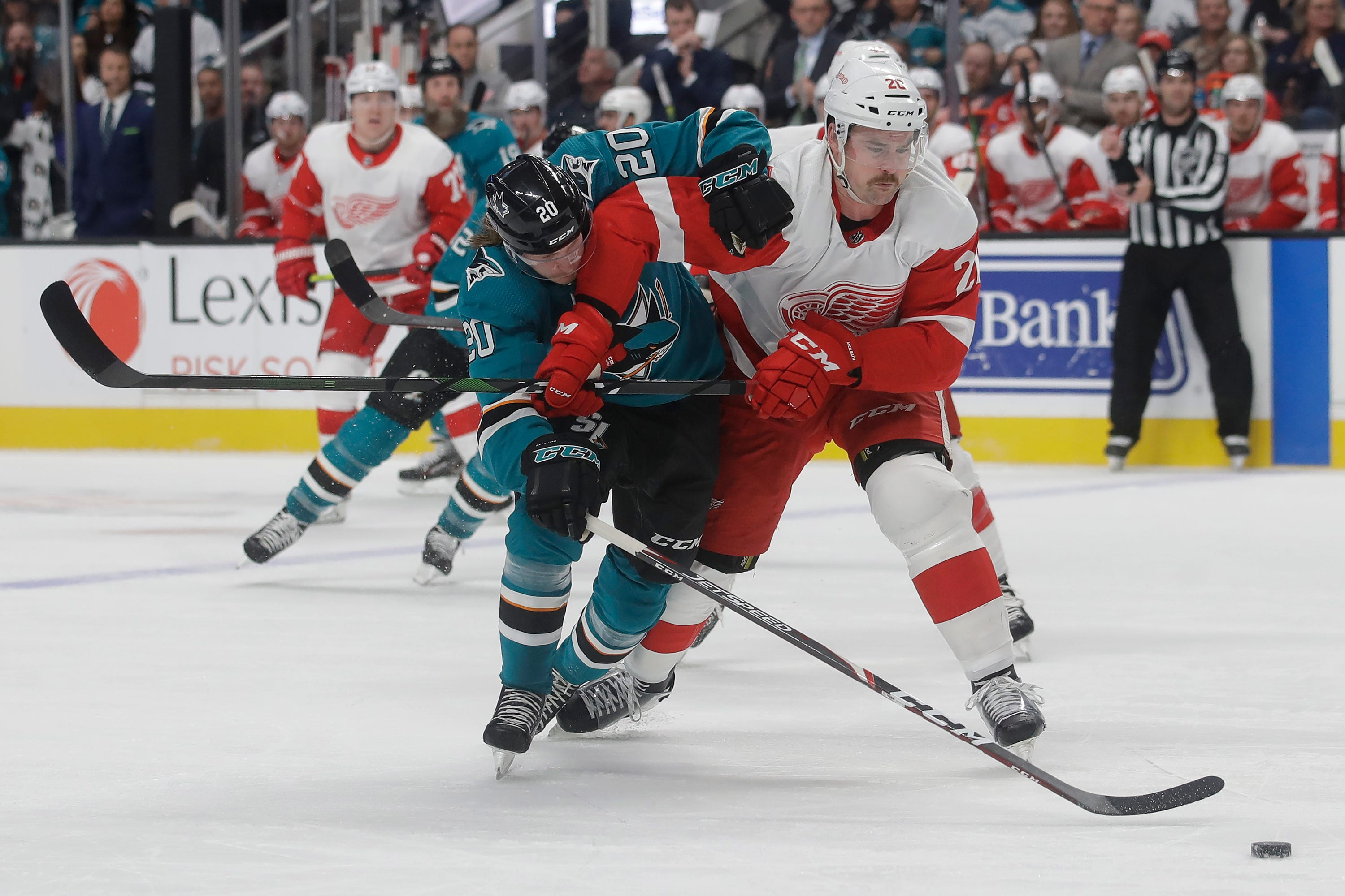 Detroit Red Wings score vs. San Jose Sharks: Live updates