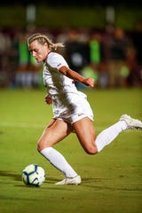 McFarland came into the NCAA tournament with five goals and one assist.