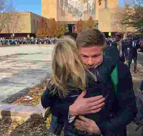 Amid political chaos, Fox News' Martha MacCallum escapes to Notre Dame football to watch son