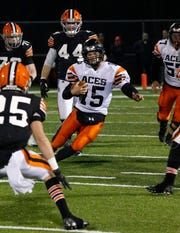 Amanda-Clearcreek senior quarterback Peyton Madison was named Division V All-Ohio first team.