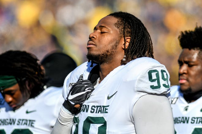 Michigan State senior Raequan Williams will set the mark for most consecutive starts at MSU this Saturday. Williams hasn't been able to take the Spartans where he wanted to this season, but the situation isn't all grim.