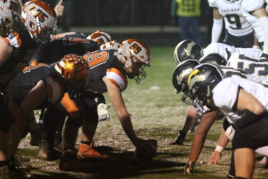 The Lucas Cubs will need to continue to win the line of scrimmage against Harvest Prep on Saturday night.