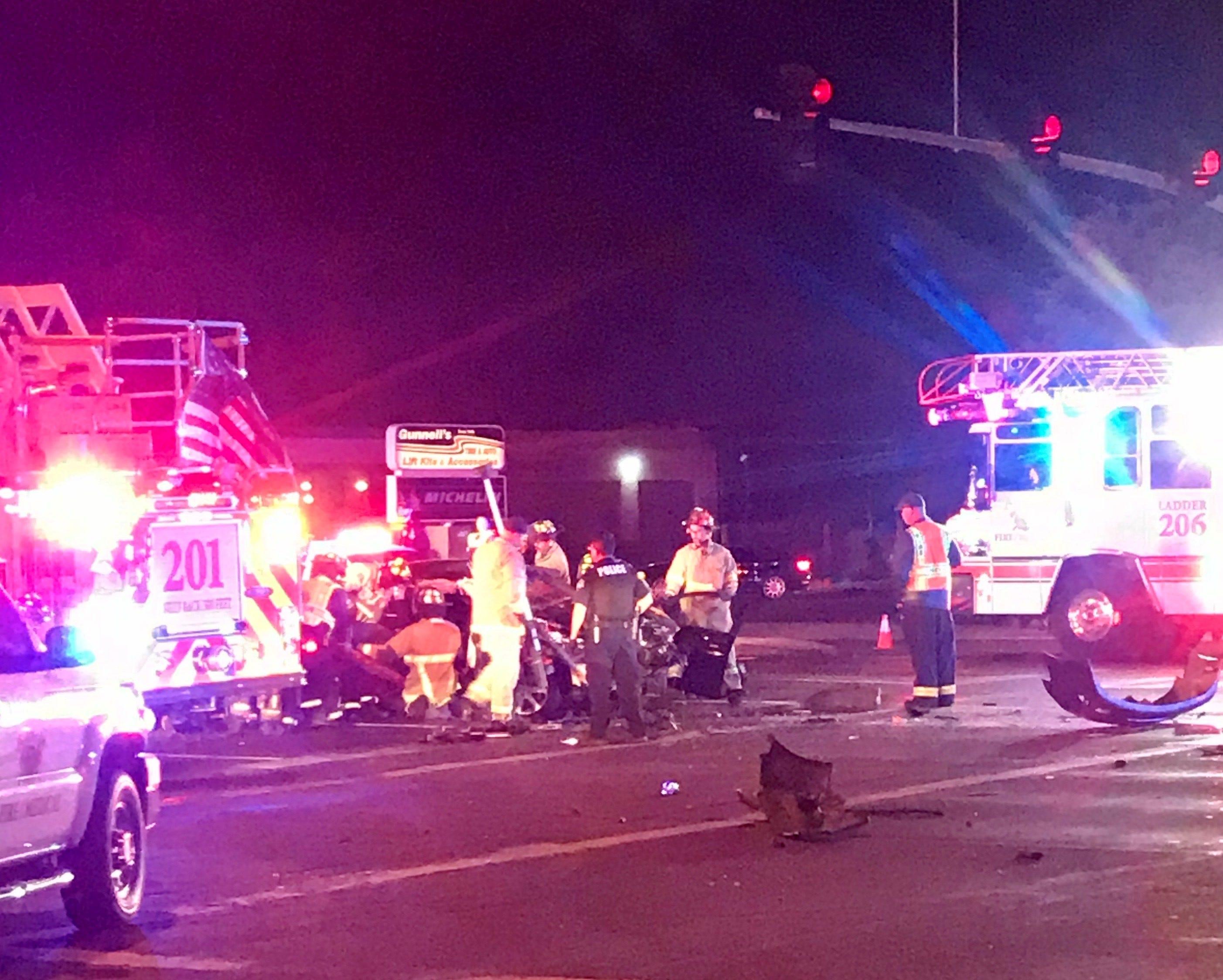 1 dead, 3 injured after fatal crash in Mesa