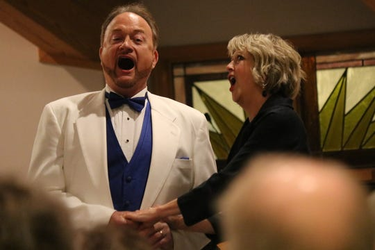 John and Nancy Williams-Shuffle returned to Port Clinton as part of the The Musical Arts Series at Firelands Presbyterian Church.