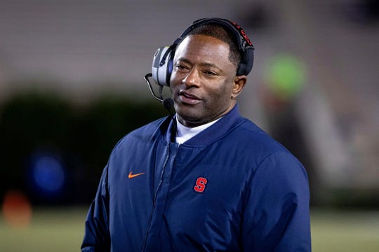 Syracuse head coach Dino Babers is looking for another new defensive coordinator after Zach Arnett left the Orange two weeks after being hired to join Mike Leach's staff at Mississippi State.
