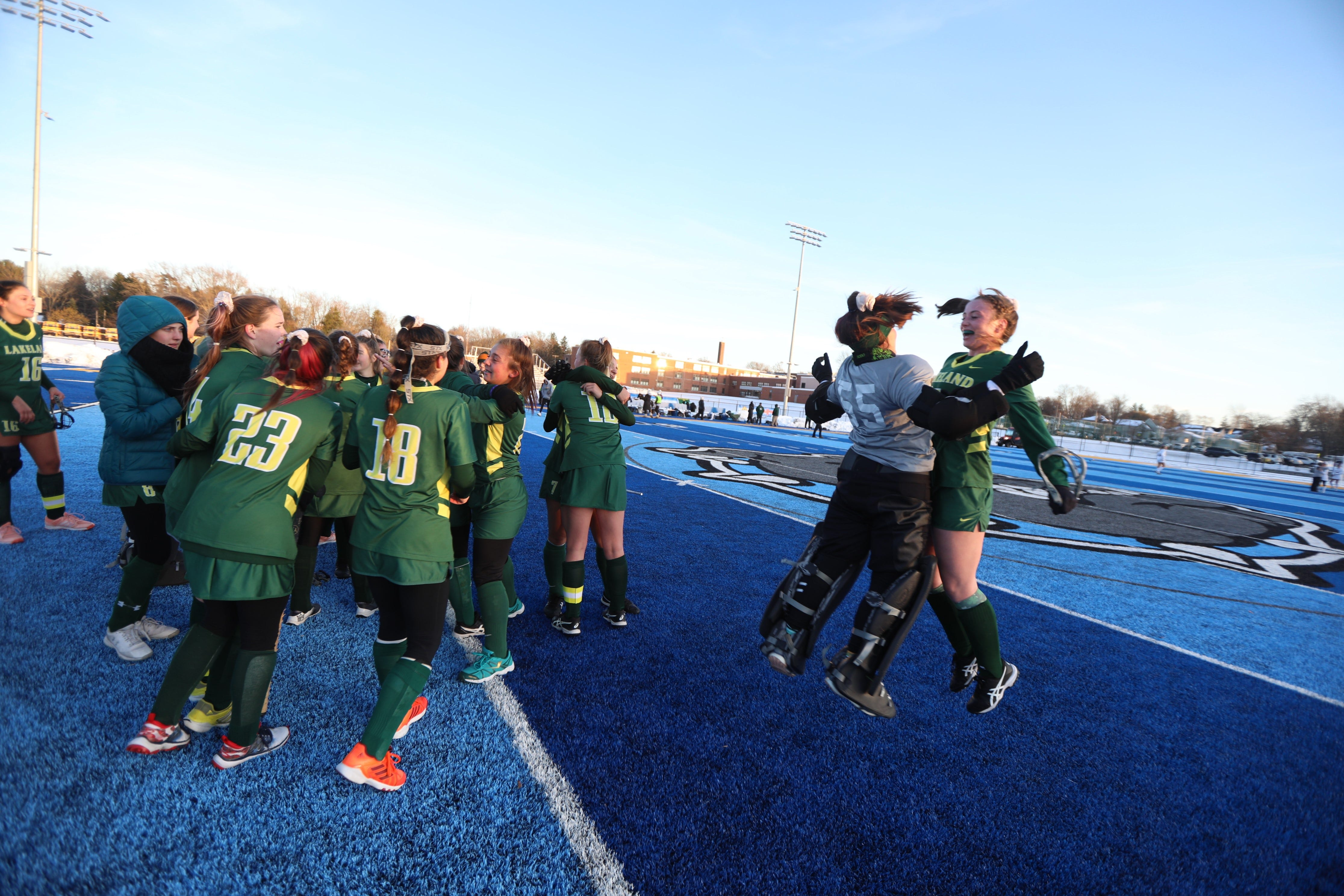 Class B field hockey: Lakeland wins 10th state title in 11 years - Rochester Democrat and Chronicle